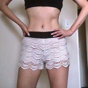 🎀Foreve 21 Crochet Shorts